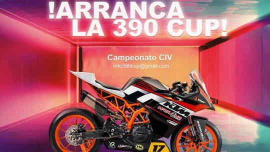 Totimport apoya la nueva CEK KTM 390 CUP 2020